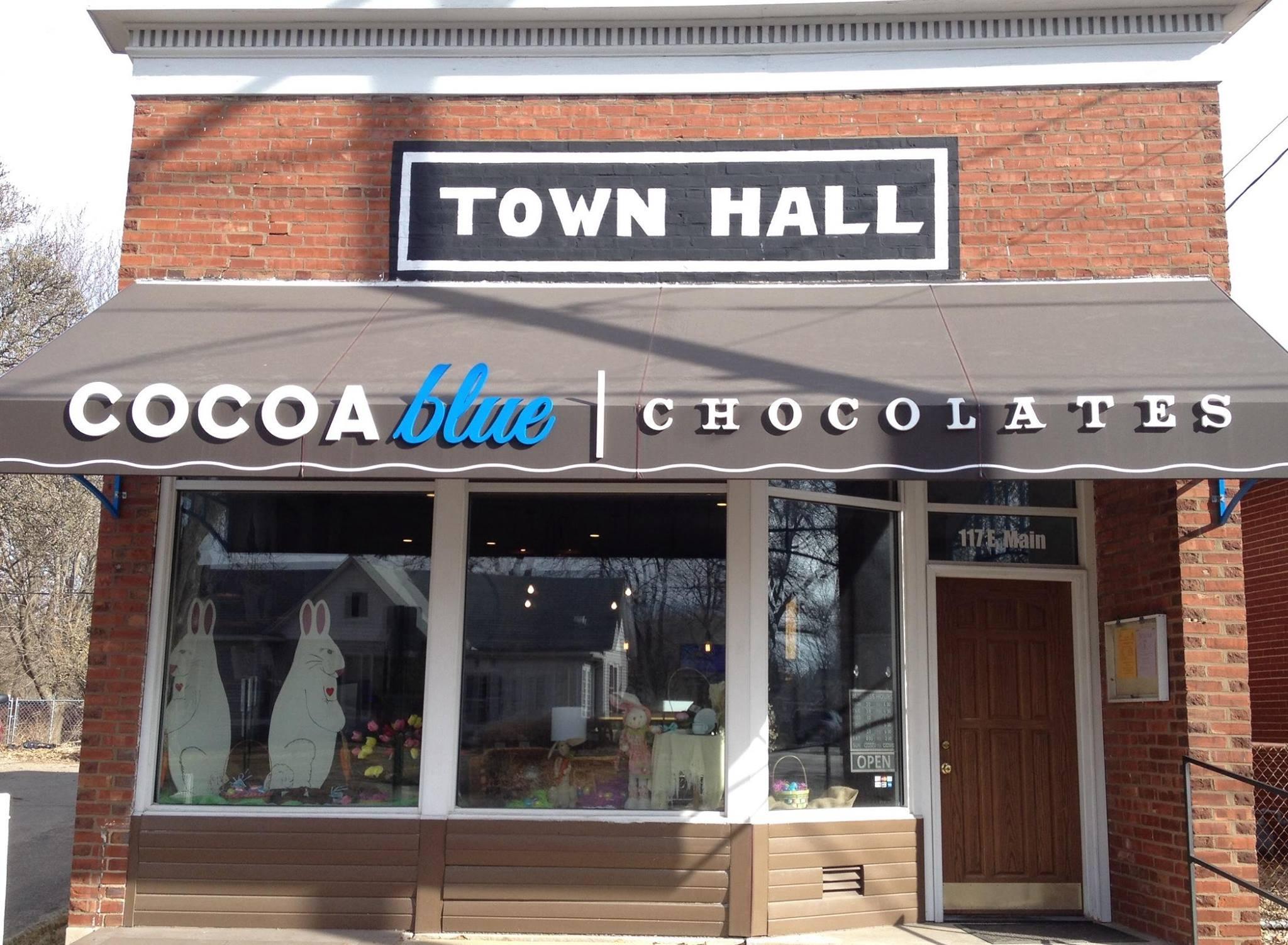 Cocoa Blue Chocolates