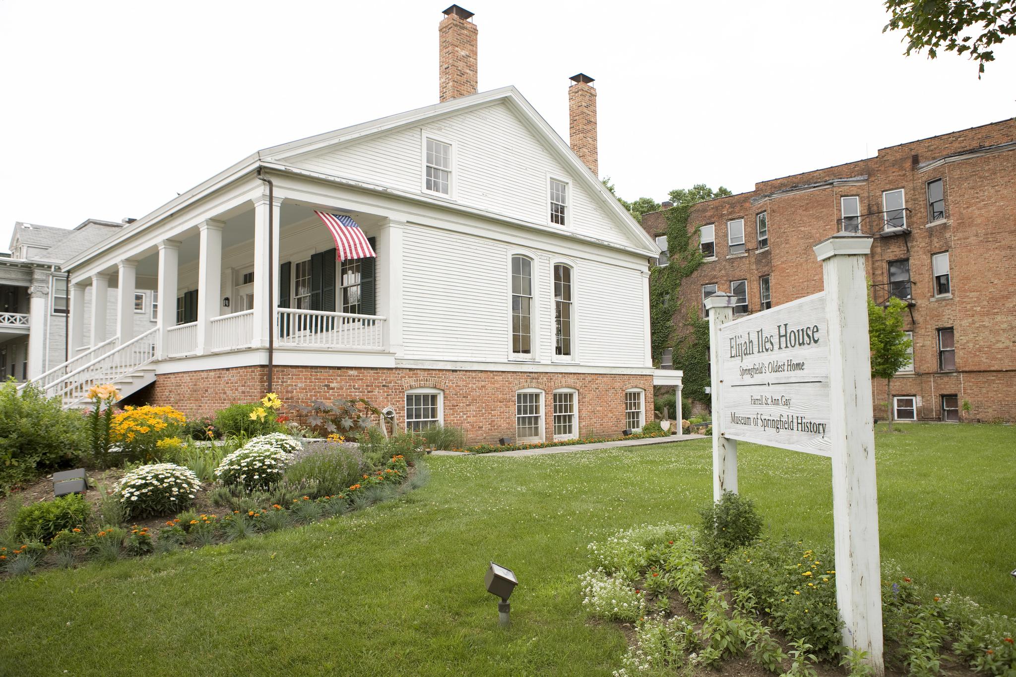Elijah Iles House & the Museum of Springfield History