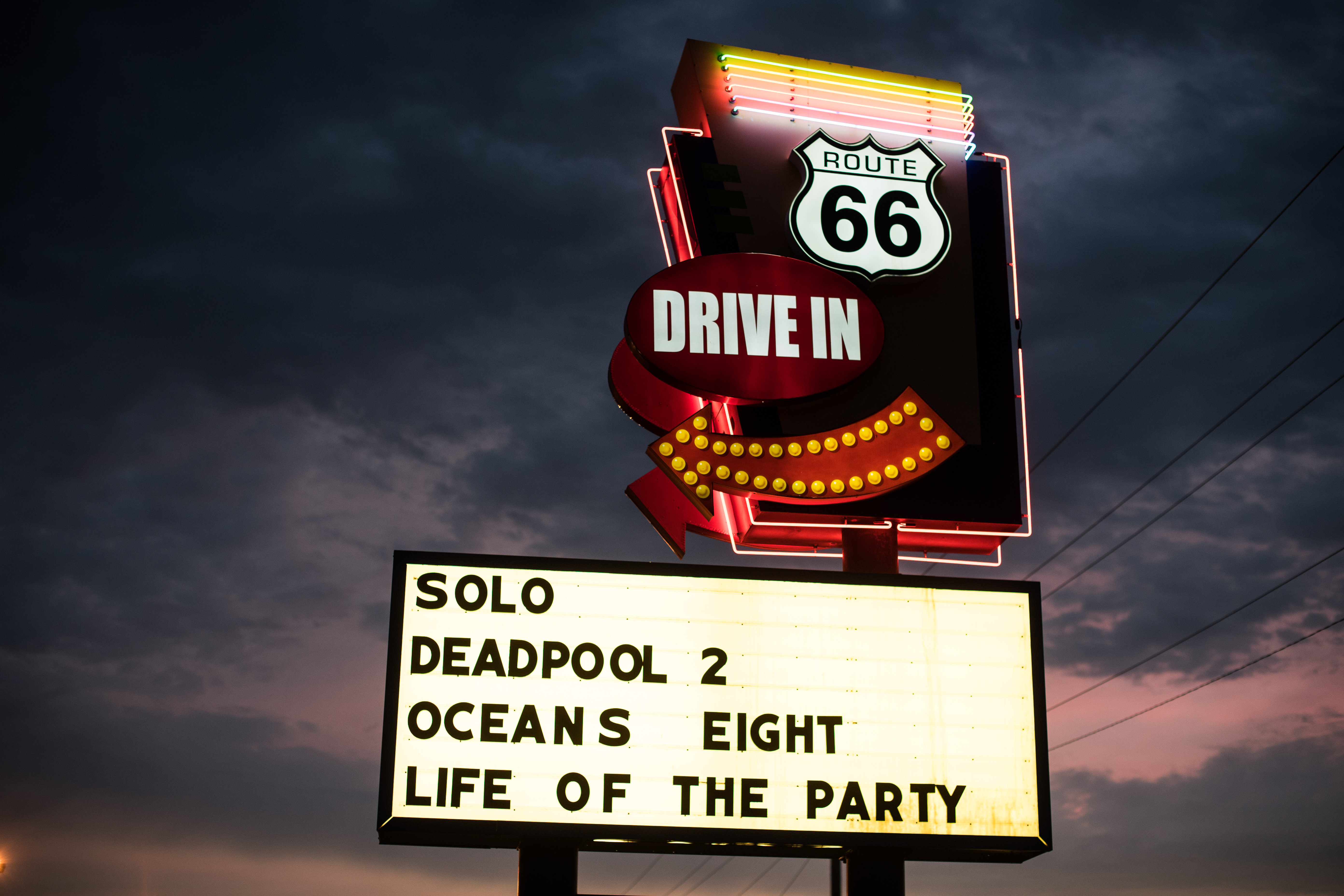 Route 66 Twin Drive-In