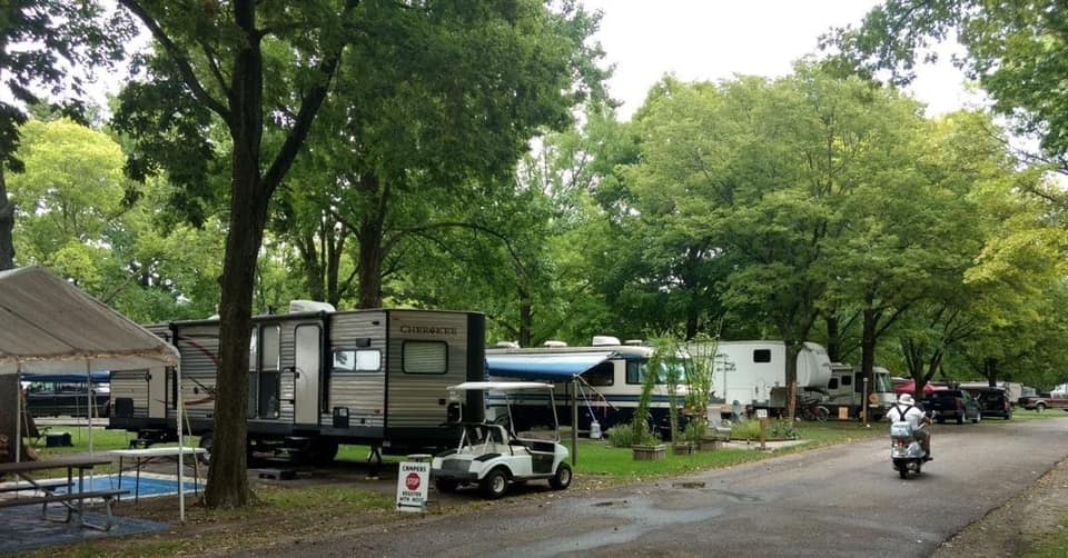 Lincoln's New Salem Campground