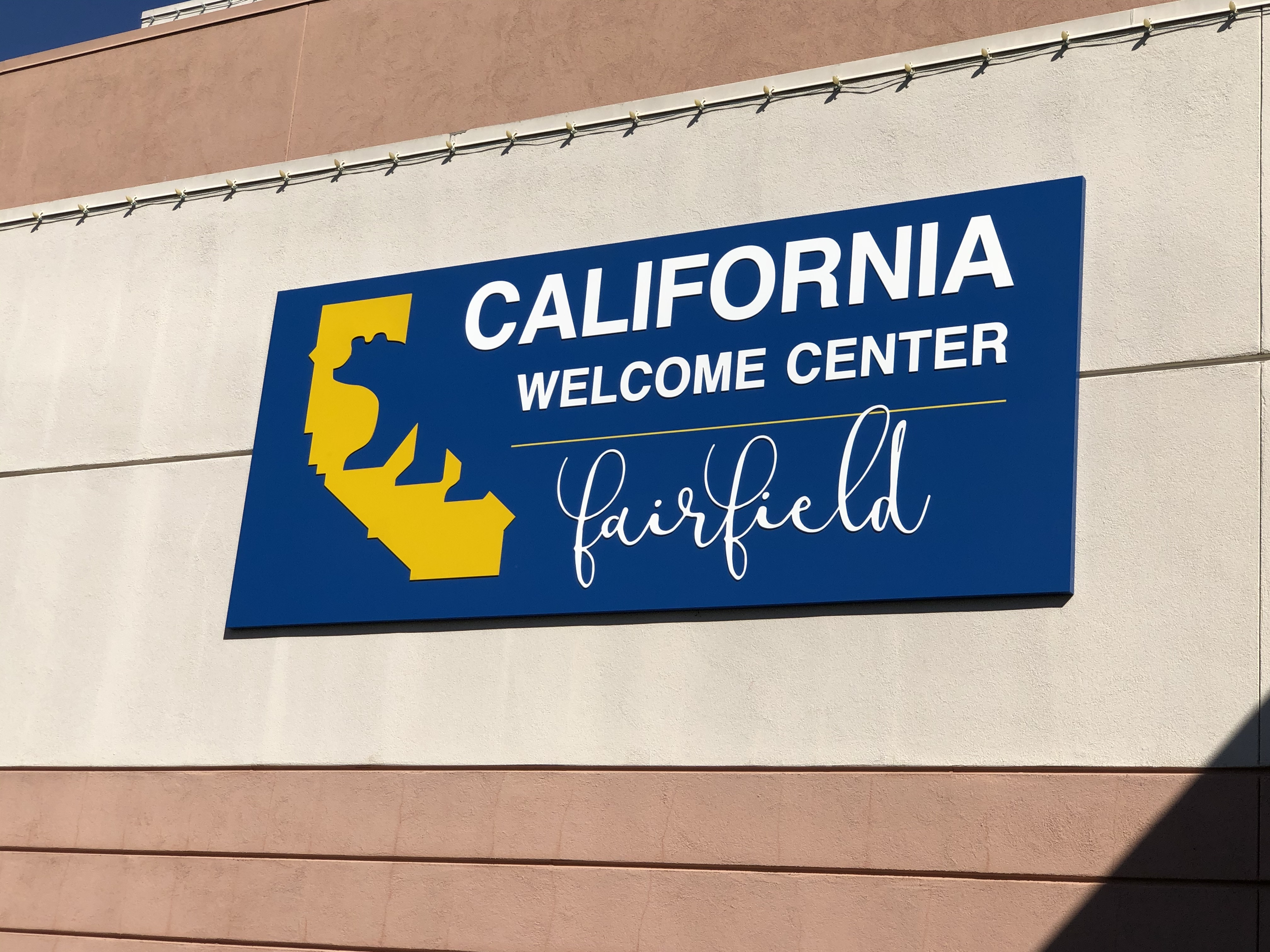 Image of California Welcome Center, Fairfield