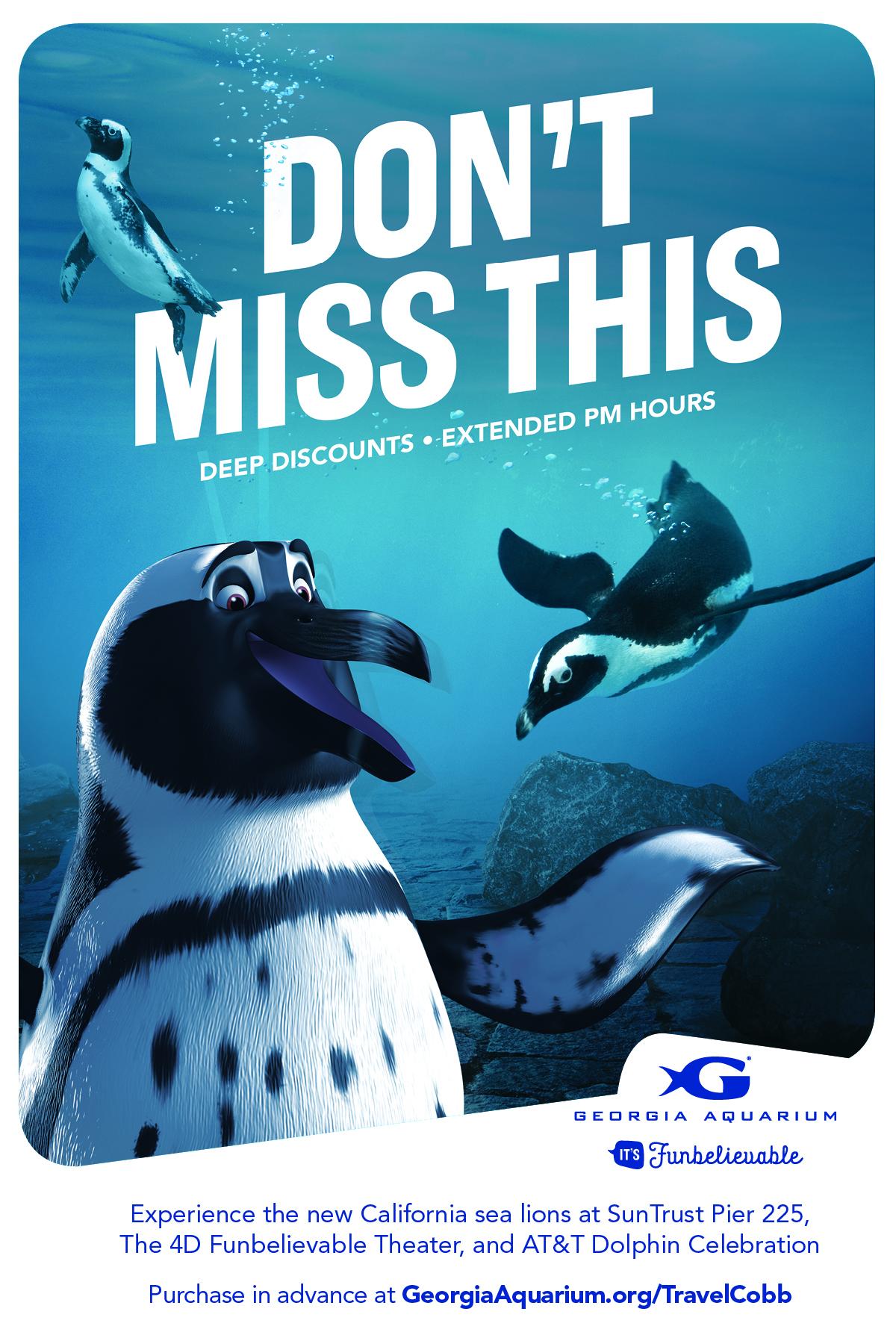 Discounted tickets to the Georgia Aquarium!!!