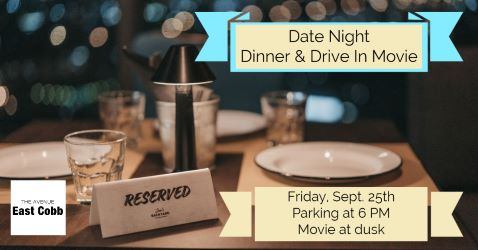 Date Night Dinner & Drive-in Movie