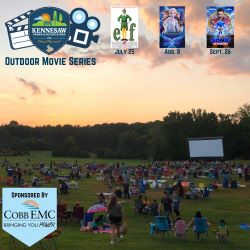 Outdoor Movie Series @ Swift-Cantrell Park