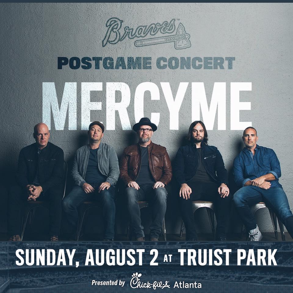 CANCELED – MercyMe at Truist Park