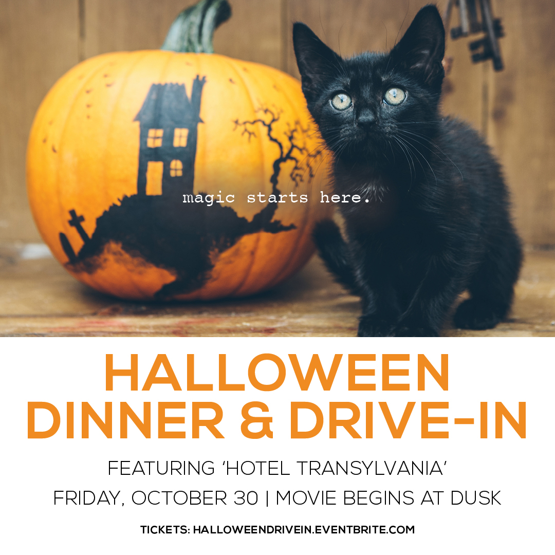 Halloween Dinner & Drive-In Movie