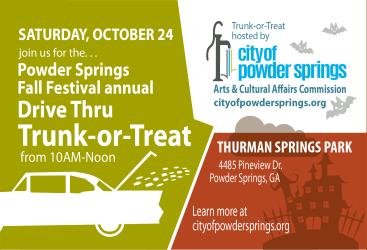 Fall Festival Drive-Thru Trunk-or-Treat